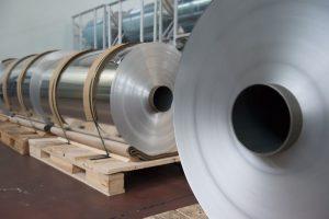 Bobine di fogli di alluminio