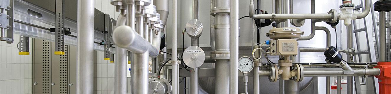Impianti per industrie farmaceutiche